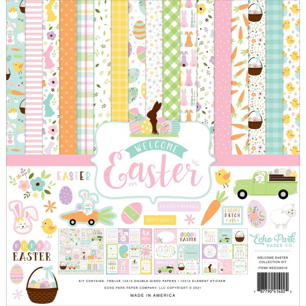 Welcome Easter 12*12 Collection Kit